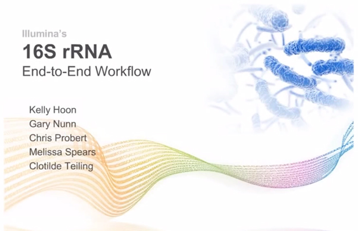 16S rRNA Sequencing Webinar