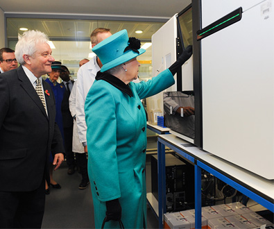 Queen Starts Illumina Genome Sequence