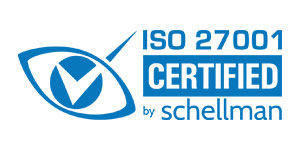 ISO 27001 CERTIFIED by schellman