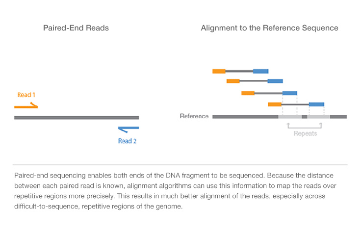 Paired-End vs. Single-Read Sequencing