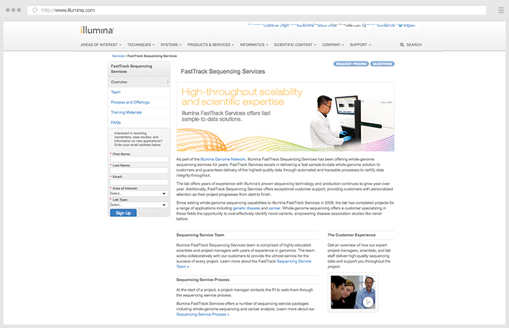 Whole-Genome Sequencing Services